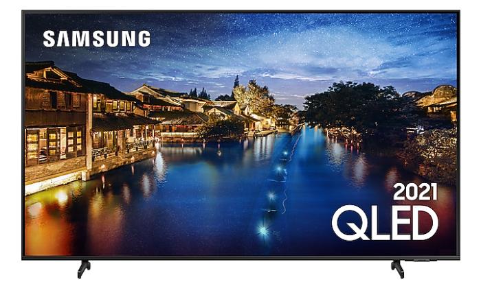 TV 4K Samsung QLED Q60A (Imagem: Divulgação/Samsung)