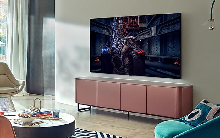 TV 4K Samsung QLED Q80A (Imagem: Divulgação/Samsung)