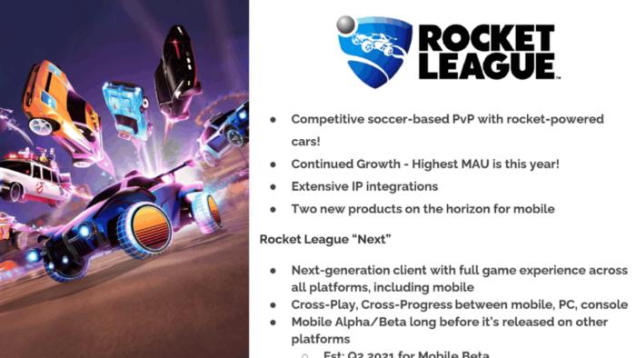 Rocket League mobile teria crossplay e eventos promocionais com outras marca (Imagem: Reprodução/The Verge)