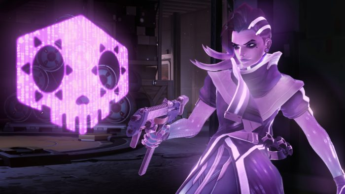 Sombra, de Overwatch (Imagem: Divulgação/Blizzard)