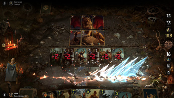 The Witcher Tales: Thronebreaker (Imagem: Divulgação/CD Projekt Red)