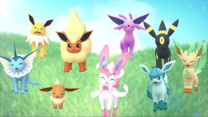 Sylveon chega em Pokémon GO (Imagem: Divulgação/The Pokémon Company)