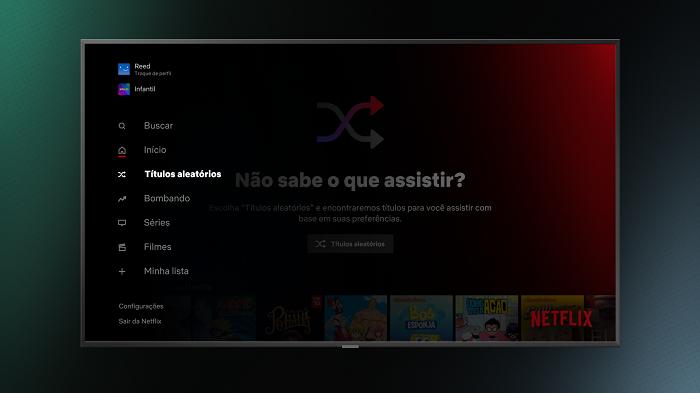 Como usar o Títulos Aleatórios da Netflix que escolhe filmes por você / Netflix / Divulgação
