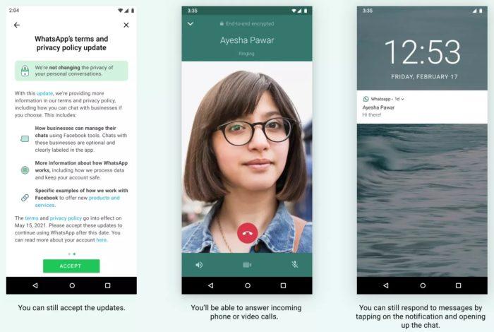 WhatsApp vai limitar recursos de quem não aceitar política de privacidade (Imagem: Divulgação)