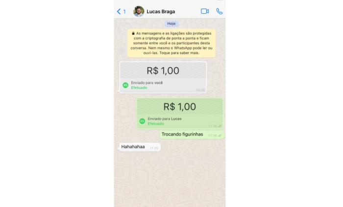 WhatsApp Pay (Imagem: Reprodução/WhatsApp)