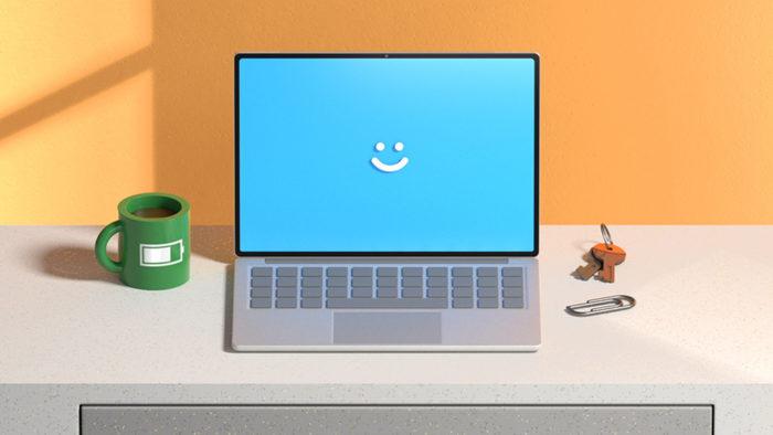 PC com Windows 10 e Windows Hello (Imagem: Divulgação / Microsoft)