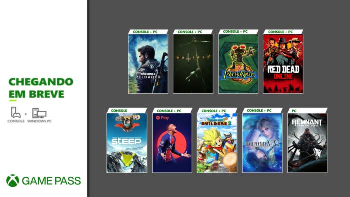 Game Pass de maio vem recheado de novidades (Imagem: Divulgação/Microsoft)