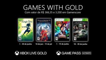 Xbox Live Gold de junho tem The King's Bird, Injustice e mais jogos grátis