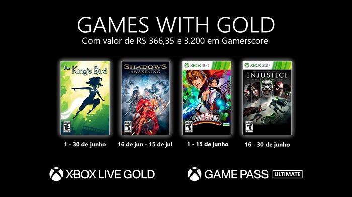 Xbox Live Gold de junho tem Shadows: Awakening, Injustice: Gods Among Us e mais / Xbox / Divulgação