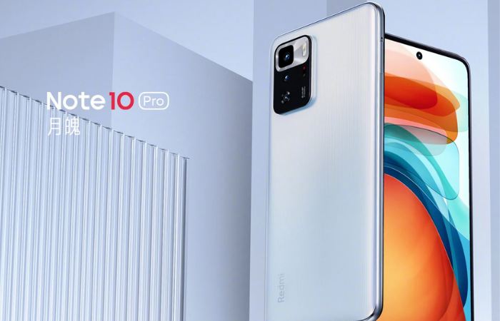 Redmi Note 10 Pro 5G (Imagem: Divulgação/Xiaomi)