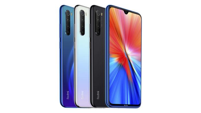 Xiaomi Redmi Note 8 (2021) (Imagem: Divulgação/Xiaomi)