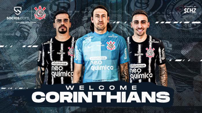 Corinthians lança fan token em parceria com Chiliz (Imagem: Divulgação/Chiliz)