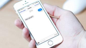 Como responder uma mensagem do iMessage [Thread]
