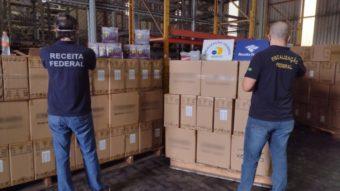 Fiscais apreendem 17 mil TV Box de IPTV e polícia fecha lojas em SP