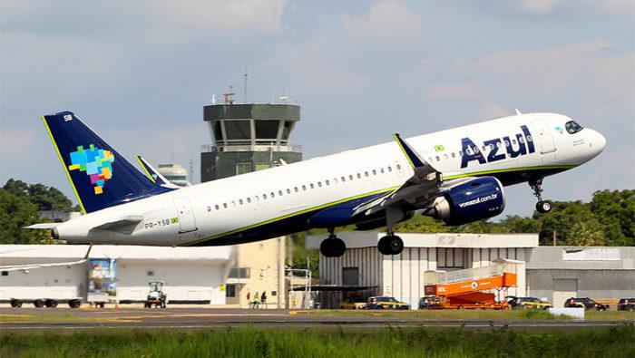 Avião da Azul Linhas Aéreas (Imagem: Alexandro Dias/Flickr)