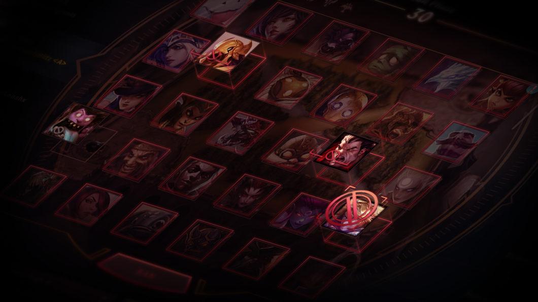 Sistema de banimento de campeões em League of Legends (Imagem: Divulgação/Riot Games)