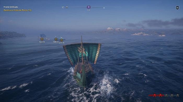 Como conseguir dracmas em Assassin's Creed Odyssey (Imagem: Leandro Kovacs/Reprodução)