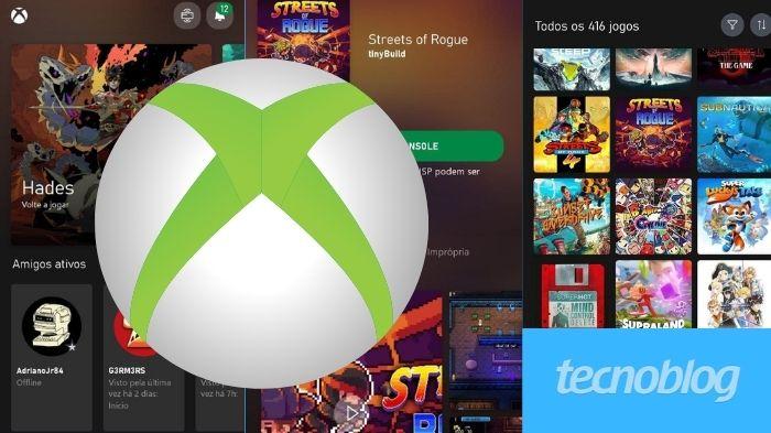 Como excluir um jogo do Xbox pelo celular (Imagem: Leandro Kovacs/Tecnoblog)