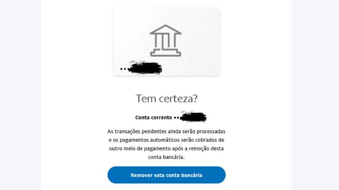 Como excluir uma conta do Paypal (Imagem: Leandro Kovacs/Reprodução)