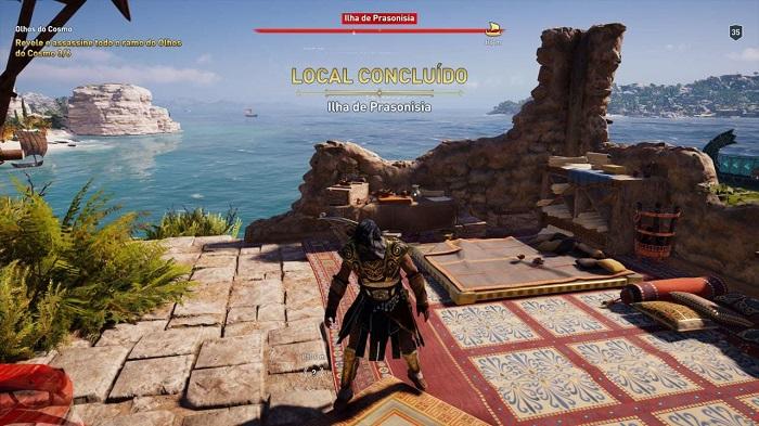 Como ganhar XP em Assassin's Creed Odyssey (Imagem: Leandro Kovacs/Reprodução)