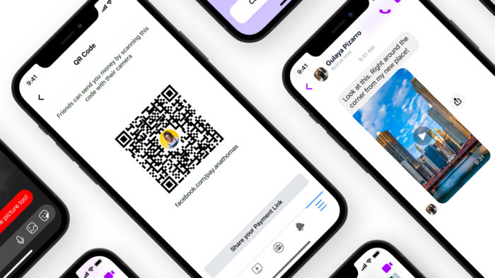 Facebook Messenger ganha barra de resposta rápida e pagamento via QR Code
