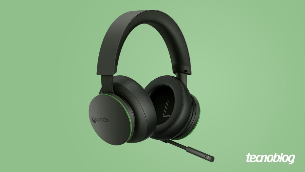 Headset Sem Fio Xbox (Imagem: Vitor Pádua/ Tecnoblog)