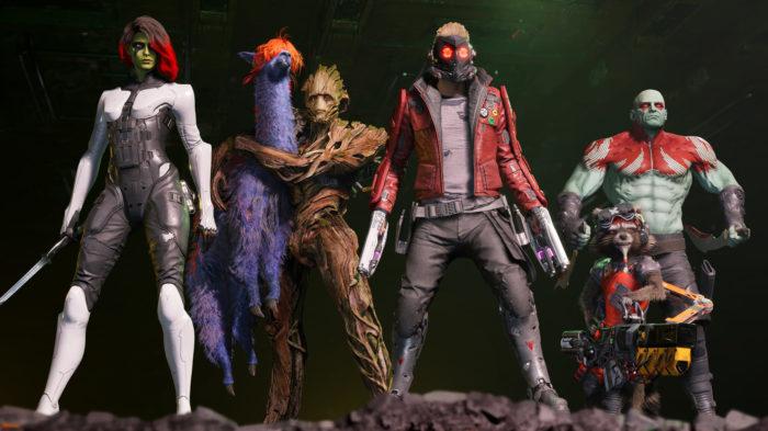 Guardians of the Galaxy (Imagem: Divulgação / Square Enix)