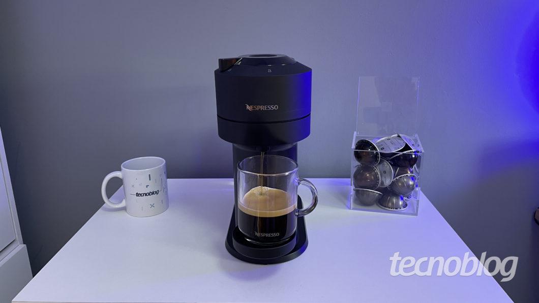 Nespresso Vertuo Next (Imagem: Darlan Helder/Tecnoblog)
