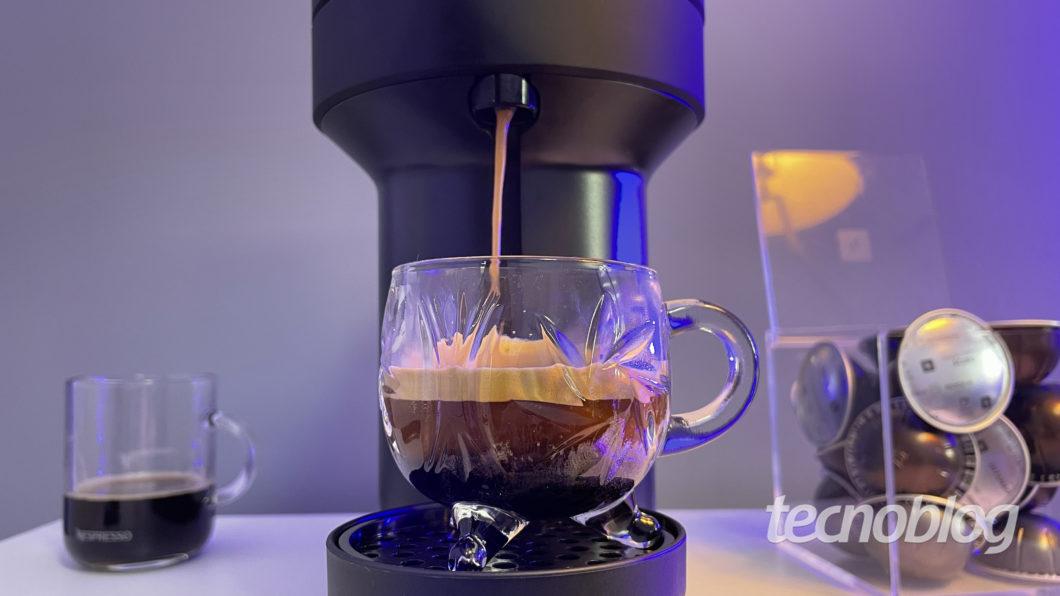 Nespresso Café Vertuo Next (Image: Darlan Helder/Tecnoblog)