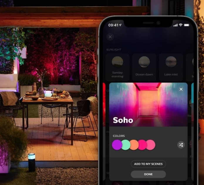 Novo aplicativo Philips Hue (Imagem: Divulgação/Signify)