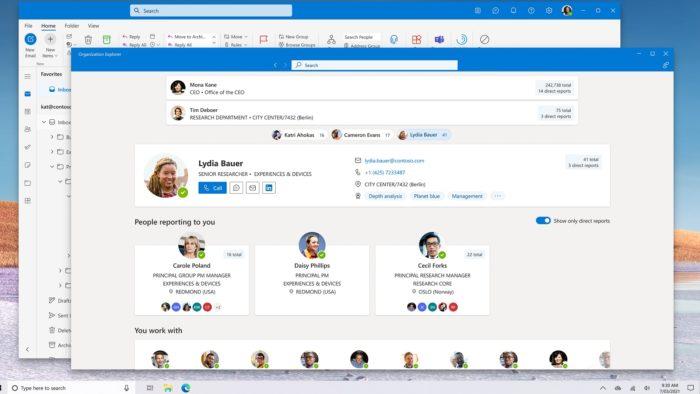 Novo Outlook no Windows 10 (Imagem: Reprodução/Microsoft)