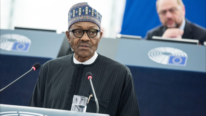 O presidente da Nigéria Muhammadu Buhari (Imagem: European Union 2016 - European Parliament/Flickr)