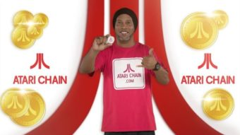"Ronaldinho Gaúcho promove criptomoeda Atari Token: ""Rumo à Lua"""