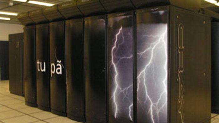 Super computador Tupã, capaz de prever o clima em relatórios anuais (Imagem: INPE/ Divulgação)