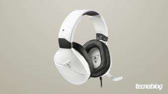 Headset Recon 200: som alto e multiplataforma