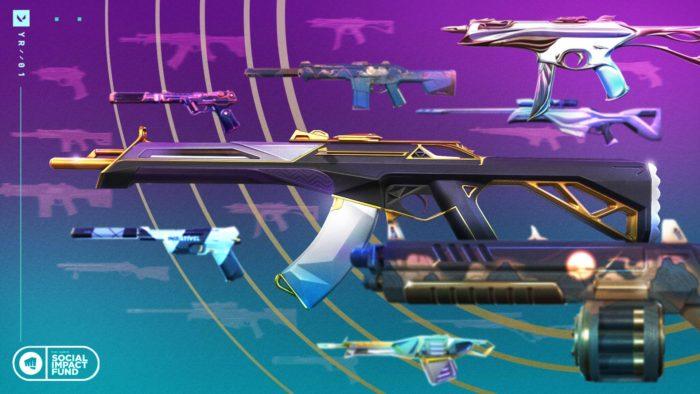 O Pacote Retribuição de Valorant vai trazer skins de armas antigas de volta (Imagem: Divulgação/Riot Games)