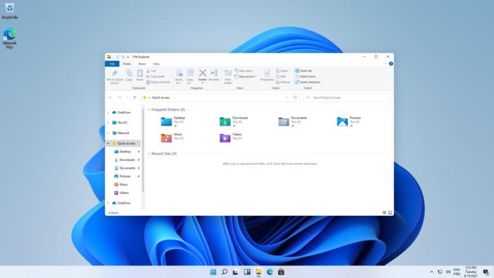 Explorador de arquivos no Windows 11 (Imagem: Reprodução/Tecnoblog)