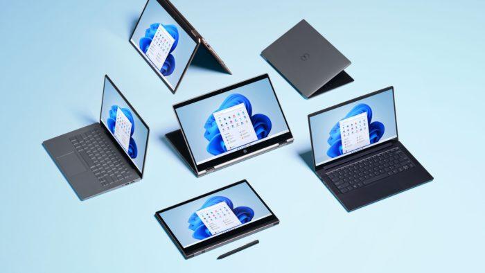 PCs rodando Windows 11 (Imagem: Divulgação / Microsoft)