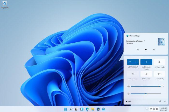 Quick settings in Windows 11 (Image: Disclosure / Microsoft)