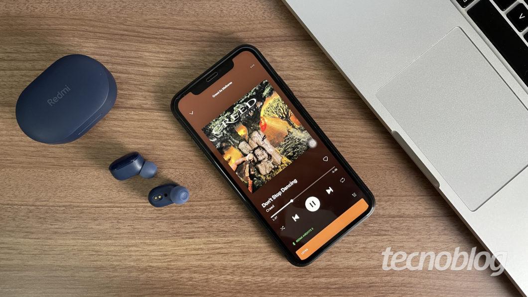 Xiaomi Redmi AirDots 3 (Image: Darlan Helder/Tecnoblog)