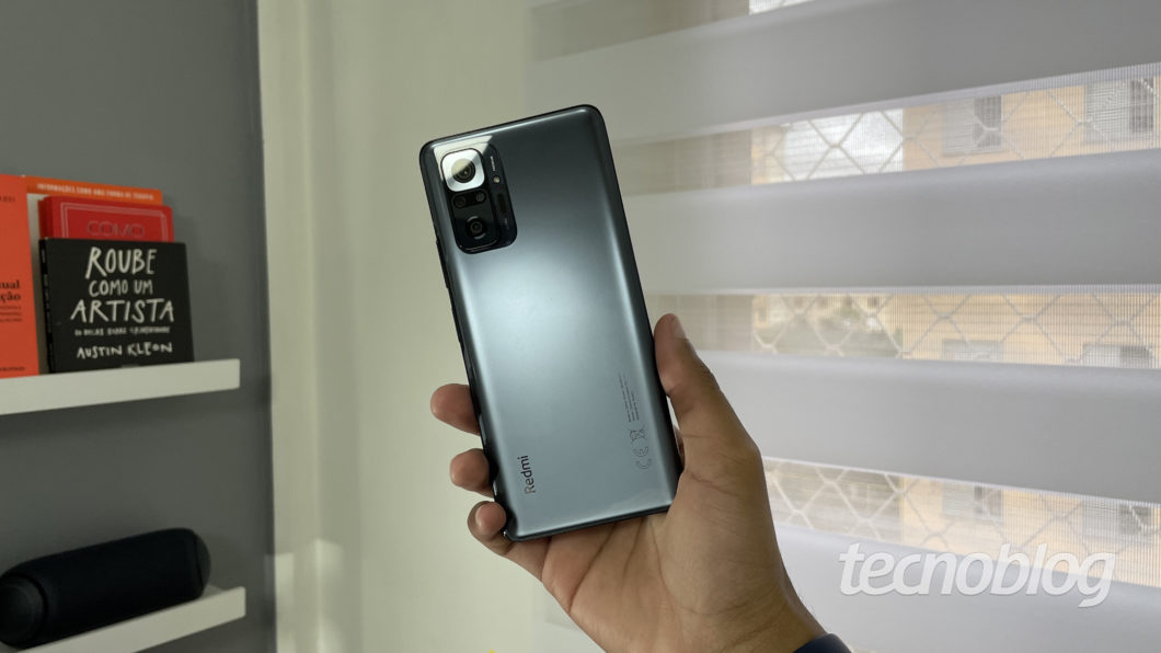 Xiaomi Redmi Note 10 Pro (Image: Darlan Helder/Tecnoblog)