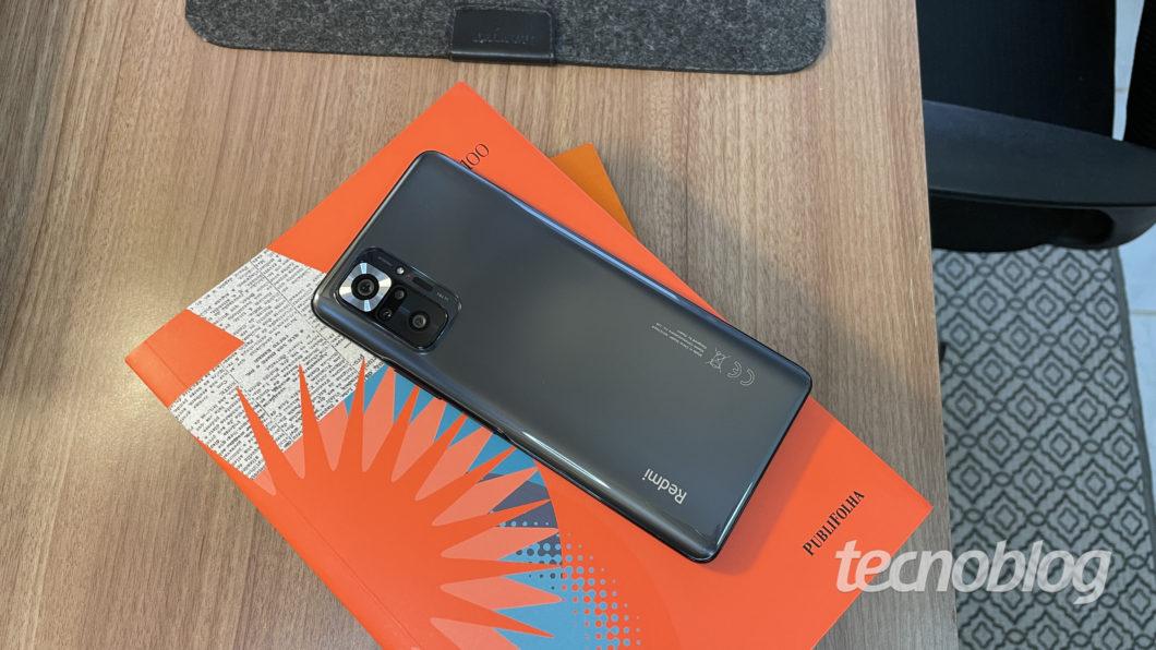 Xiaomi Redmi Note 10 Pro (Imagem: Darlan Helder/Tecnoblog)