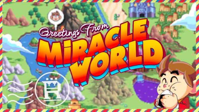 Alex Kidd in Miracle World DX chega antes ao Brasil (Imagem: Divulgação/Merge Games)