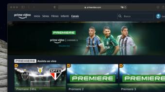 Premiere é vendido via Amazon Prime Video com canal 24h de futebol
