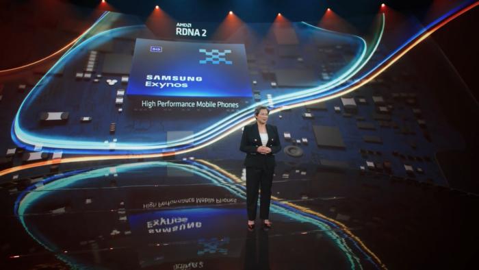 Próximo Samsung Exynos terá arquitetura AMD RDNA 2 (Imagem: Reprodução/AMD/YouTube)