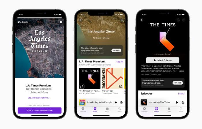 Apple libera assinaturas no Apple Podcasts (Imagem: Divulgação/Apple)