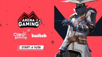 Claro e Twitch lançam torneio de esports com R$ 25 mil em prêmios