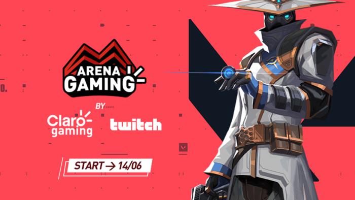 Arena Gaming, da Claro, terá torneio de Valorant (Imagem: Divulgação/Claro)