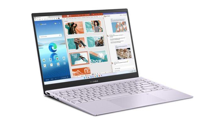Asus ZenBook com Windows 11 (Imagem: Divulgação)