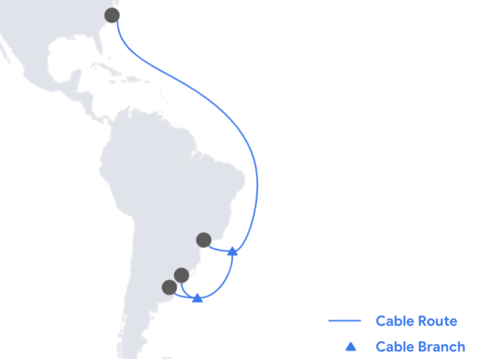 Cabo Firmina, do Google (Imagem: divulgação/Google)